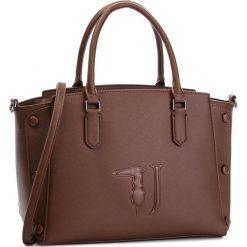 Torebka TRUSSARDI JEANS - Melissa 75B00454 B285. Brązowe torebki do ręki damskie TRUSSARDI JEANS, z jeansu. Za 639.00 zł.