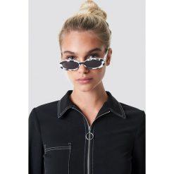 Le Specs Okulary przeciwsłoneczne Outta Love - White. Białe okulary przeciwsłoneczne damskie Le Specs. Za 222.95 zł.