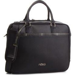 Torba na laptopa NOBO - NBAG-MF0030-C020 Czarny. Czarne torby na laptopa damskie Nobo, ze skóry ekologicznej. W wyprzedaży za 219.00 zł.