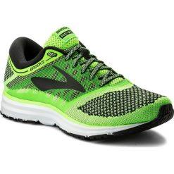 Buty BROOKS - Revel 110260 1D 340 Green/Black/White. Zielone buty sportowe męskie Brooks, z materiału. W wyprzedaży za 369.00 zł.