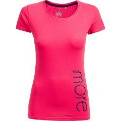 T-shirt damski TSD601 - różowy - Outhorn. Czerwone t-shirty damskie Outhorn, z bawełny. W wyprzedaży za 24.99 zł.
