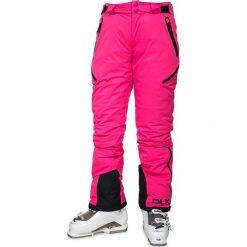 """Spodnie narciarskie """"Marisol"""" w kolorze różowym. Czerwone spodnie snowboardowe damskie Trespass Snow Women, z haftami. W wyprzedaży za 347.95 zł."""