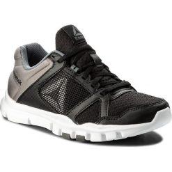 Buty Reebok - Yourflex Train 10 Mt BS9884  Black/White/Alloy. Czarne obuwie sportowe damskie Reebok, z materiału. W wyprzedaży za 169.00 zł.