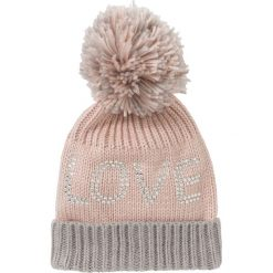 Czapka z pomponem bonprix dymny jasnoróżowy - szary. Czapki i kapelusze damskie marki WED'ZE. Za 44.99 zł.