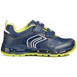 Geox Tenisówki Chłopięce Android 25 Niebieski. Niebieskie buty sportowe chłopięce Geox. Za 259.00 zł.