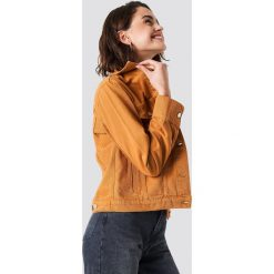 NA-KD Kurtka jeansowa - Orange. Pomarańczowe kurtki damskie NA-KD Trend, z jeansu. Za 202.95 zł.