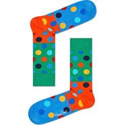 Happy Socks - Skarpety Big Dot Block. Zielone skarpety męskie Happy Socks, z bawełny. Za 39.90 zł.