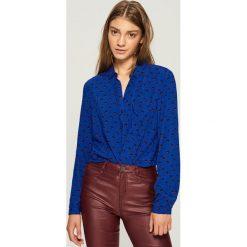 Koszula - Niebieski. Niebieskie koszule damskie Sinsay. Za 39.99 zł.