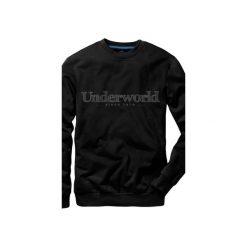Bluza UNDERWORLD casual Since 1979. Czarne bluzy męskie Underworld, z nadrukiem, z bawełny. Za 119.99 zł.