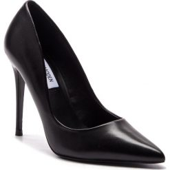 Szpilki STEVE MADDEN - Daisie Heel SM11000019-03001-017 Black Leather. Czarne szpilki damskie Steve Madden, ze skóry ekologicznej. W wyprzedaży za 309.00 zł.