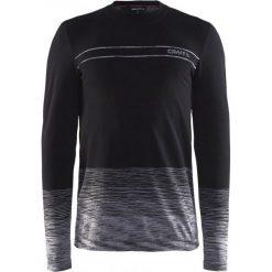 Craft Koszulka Męska Wool Comfort Czarna L. Czarne koszulki sportowe męskie Craft, ze skóry, z długim rękawem. W wyprzedaży za 189.00 zł.