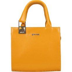 Shopper Bag HAMBURG. Pomarańczowe torebki shopper damskie Gino Rossi, z motywem zwierzęcym. W wyprzedaży za 299.90 zł.