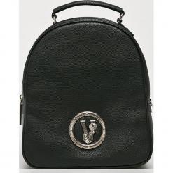 Versace Jeans - Plecak. Czarne plecaki damskie Versace Jeans, z jeansu. Za 719.90 zł.