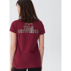 Koszulka piżamowa Harry Potter - Bordowy. Czerwone koszule nocne damskie House. Za 29.99 zł.