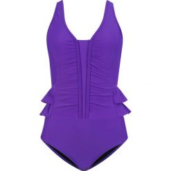 Kostium kąpielowy shape bonprix lila. Fioletowe kostiumy jednoczęściowe damskie bonprix. Za 79.99 zł.