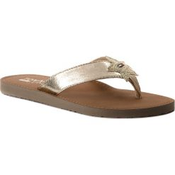 Japonki TOMMY JEANS - Glitter Beach Sandal EN0EN00065 Light Gold 708. Klapki damskie marki Tommy Jeans. W wyprzedaży za 129.00 zł.