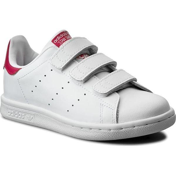 Tanie Buty Adidas Stan Smith Cf Dla Dzieci Białe Zielone