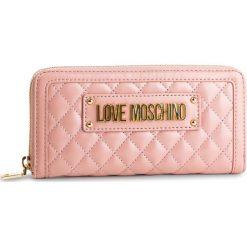 Duży Portfel Damski LOVE MOSCHINO - JC5612PP17LA0600 Rosa. Czerwone portfele damskie Love Moschino, ze skóry ekologicznej. Za 429.00 zł.