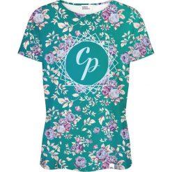 Colour Pleasure Koszulka damska CP-030 261 zielono-różowa r. XS/S. T-shirty damskie Colour Pleasure. Za 70.35 zł.
