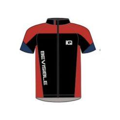 IQ koszulka rowerowa Ruven Black/ Navy Peony/ Valiant Poppy r. M. Koszulki sportowe męskie IQ. Za 90.56 zł.