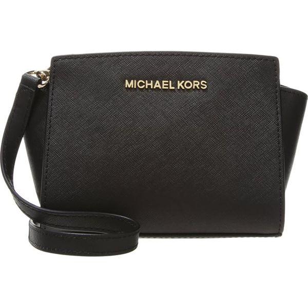 3e0ddaaa9b5d6 MICHAEL Michael Kors SELMA MINI MESSENGER Torba na ramię black ...