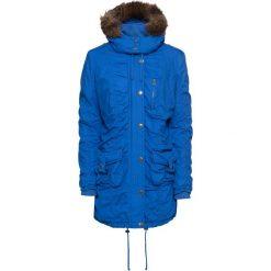 Płaszcz zimowy bonprix lazurowy niebieski. Płaszcze damskie marki FOUGANZA. Za 169.99 zł.