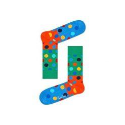 Skarpetki Happy Socks - Big Dot Block (BDB01-7000). Czarne skarpety męskie marki Giacomo Conti, z bawełny. Za 34.90 zł.