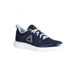 Buty damskie do szybkiego marszu Soft Walk w kolorze niebieskim. Niebieskie obuwie sportowe damskie Reebok. W wyprzedaży za 79.99 zł.