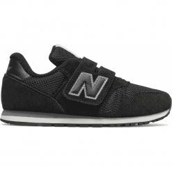 New Balance KV373KUY. Czarne buty sportowe dziewczęce New Balance, na lato. Za 249.99 zł.