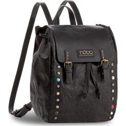 Plecak NOBO - NBAG-D3350-C020  Czarny. Czarne plecaki damskie Nobo, ze skóry ekologicznej, klasyczne. W wyprzedaży za 139.00 zł.
