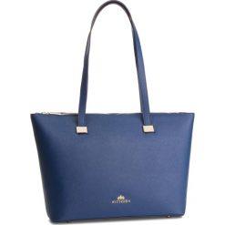 Torebka WITTCHEN - 87-4E-416-7 Granatowy. Niebieskie torebki do ręki damskie Wittchen, ze skóry. W wyprzedaży za 419.00 zł.