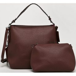 Answear - Torebka Nomad. Brązowe torby na ramię damskie ANSWEAR. Za 149.90 zł.