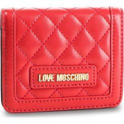Mały Portfel Damski LOVE MOSCHINO - JC5614PP17LA0500 Rosso. Czerwone portfele damskie Love Moschino, ze skóry ekologicznej. Za 339.00 zł.