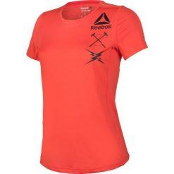 Reebok Koszulka damska treningowa Activchill Graphic Tee W pomarańczowa r. XS (B45060). T-shirty damskie Reebok. Za 120.49 zł.