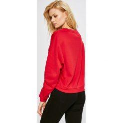 Guess Jeans - Bluza. Szare bluzy damskie Guess Jeans, z nadrukiem, z bawełny. Za 319.90 zł.
