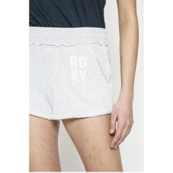 Roxy - Szorty Wishes You. Szare szorty sportowe damskie Roxy, z bawełny. W wyprzedaży za 129.90 zł.