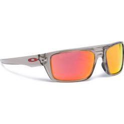 Okulary przeciwsłoneczne OAKLEY - Drop Point OO9367-0360 Grey Ink/Ruby Iridium. Szare okulary przeciwsłoneczne męskie marki Giacomo Conti, na zimę, z tkaniny. W wyprzedaży za 479.00 zł.