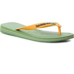 Japonki HAVAIANAS - Brasil Logo 41108500078 Green Bamboo. Klapki damskie marki Birkenstock. W wyprzedaży za 89.00 zł.