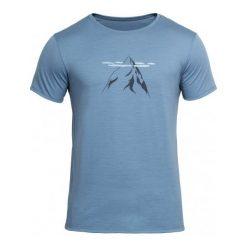 Devold Męska Koszulka Nipa Tee Błękitny Xl. Niebieskie koszulki sportowe męskie Devold, z wełny, z krótkim rękawem. Za 315.00 zł.