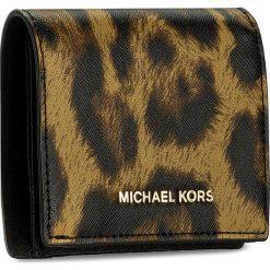Mały Portfel Damski MICHAEL MICHAEL KORS - Money Pieces 32F7GF6F5Y Butterscotch. Brązowe portfele damskie MICHAEL Michael Kors, ze skóry. W wyprzedaży za 259.00 zł.