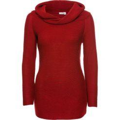 """Sweter z dekoltem """"carmen"""" bonprix czerwony. Swetry damskie marki bonprix. Za 54.99 zł."""