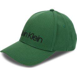 Czapka z daszkiem CALVIN KLEIN - Logo Embroidery Cap K50K504106 312. Zielone czapki i kapelusze męskie Calvin Klein. Za 159.00 zł.