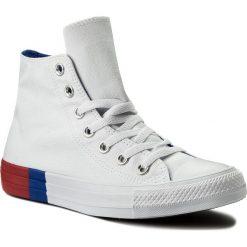 Trampki CONVERSE - Ctas Hi 159639C White/Red/Blue. Trampki męskie Converse, z gumy. W wyprzedaży za 219.00 zł.