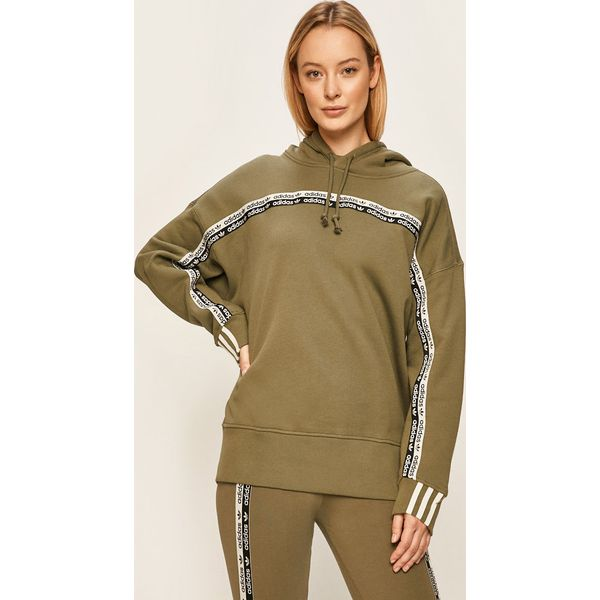 Bluza sportowa Adidas Odzież Damska IV zielony Bluzy