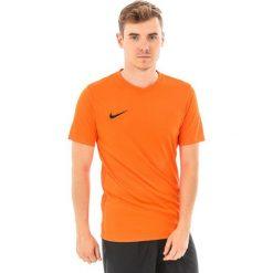 Nike Koszulka piłkarska Park VI pomarańczowa r. M (NIKE0609013). Koszulki sportowe męskie marki bonprix. Za 48.00 zł.