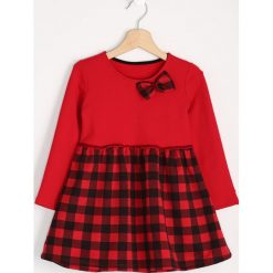 Czerwona Sukienka Red Bow. Sukienki niemowlęce marki Reserved. Za 29.99 zł.