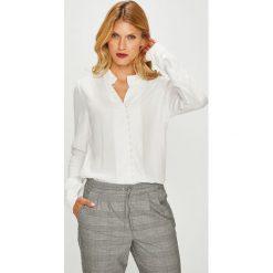 Vero Moda - Koszula. Szare koszule damskie Vero Moda, z tkaniny, casualowe, z długim rękawem. W wyprzedaży za 139.90 zł.