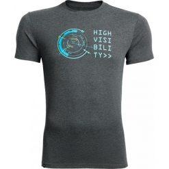 T-shirt męski  TSM604 - ciemny szary melanż - Outhorn. Szare t-shirty męskie Outhorn, melanż, z bawełny. W wyprzedaży za 29.99 zł.