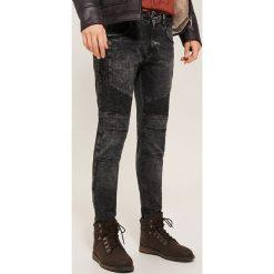 Jeansy skinny - Czarny. Czarne jeansy męskie House. Za 139.99 zł.