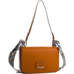 Torebka LOVE MOSCHINO - JC4253PP05KF0200 Cuoio. Brązowe torebki do ręki damskie Love Moschino, ze skóry ekologicznej. W wyprzedaży za 469.00 zł.